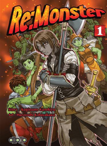Manga - Manhwa - Re:Monster Vol.1