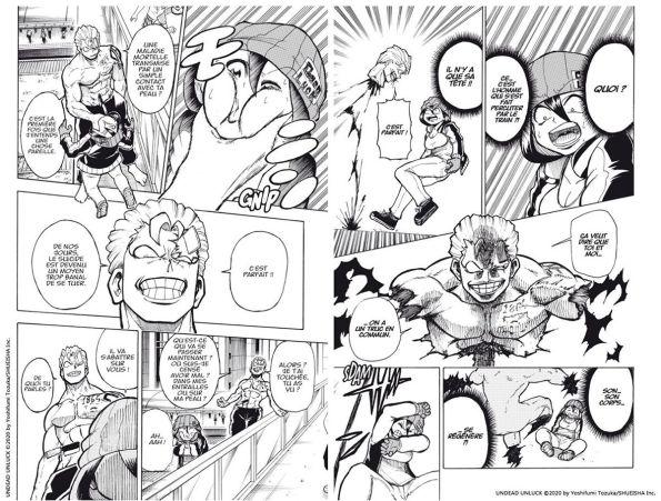 Une rentrée explosive chez Kana avec le manga Undead Unluck, 06 Mai 2021 - Manga news