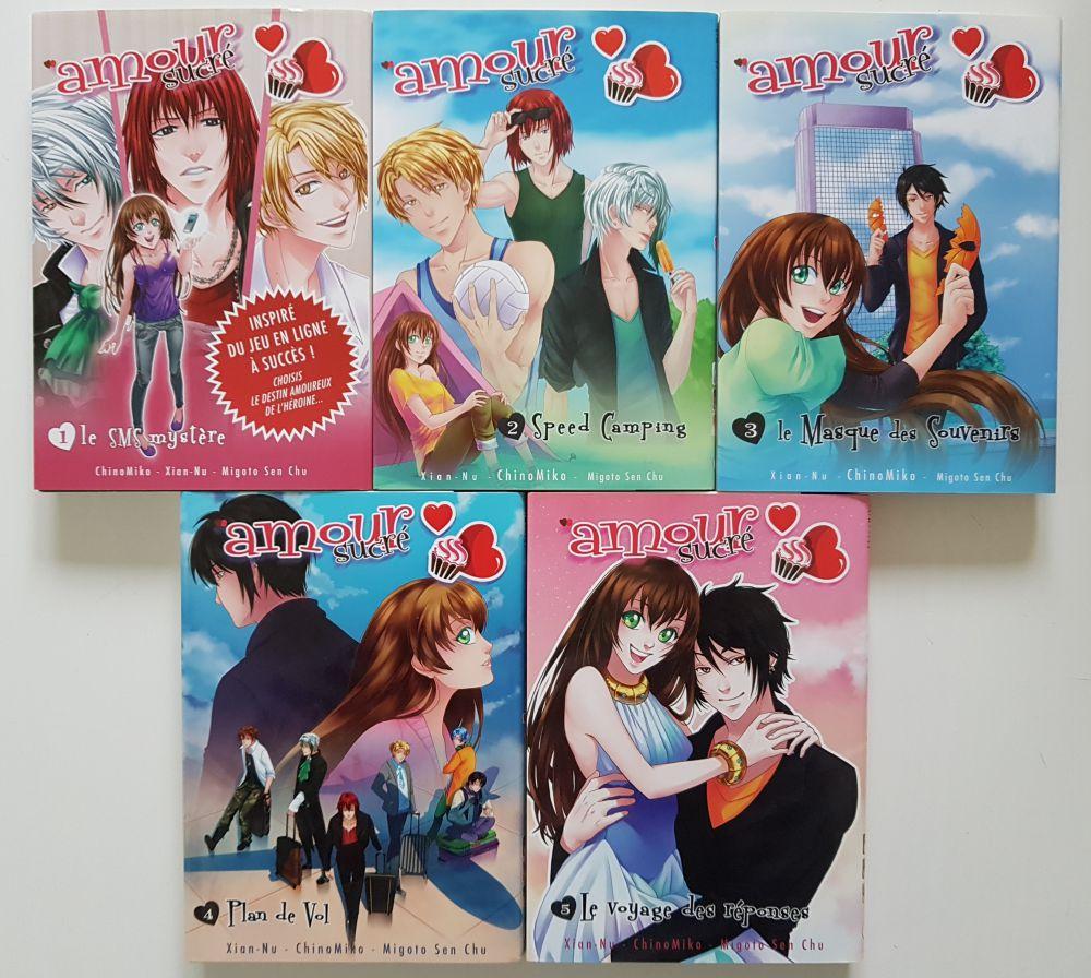 tome 1 a 5 sur manga occasion