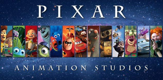 I migliori cartoni animati della pixar