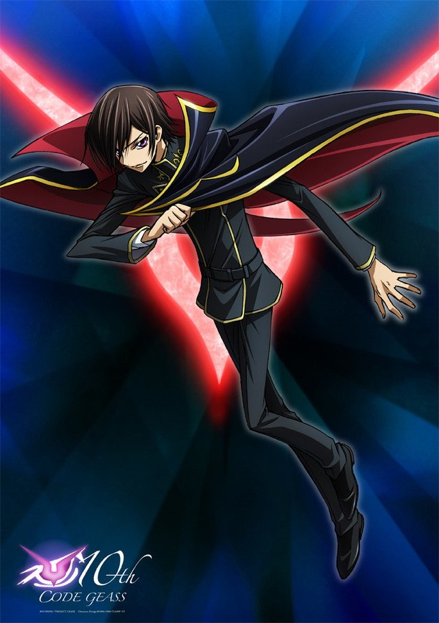 code geass lelouch 10th