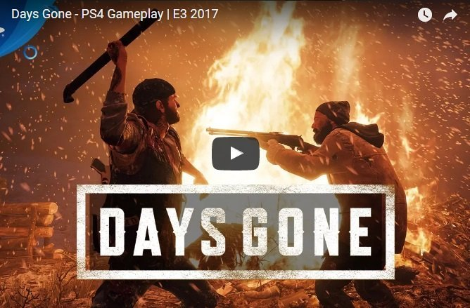 E3 2017 Sony, c'è Days Gone: gameplay di 12 minuti, nessuna data