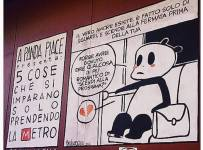 panda piace metro giacomo bevilacqua intervista recensione fumetto festival
