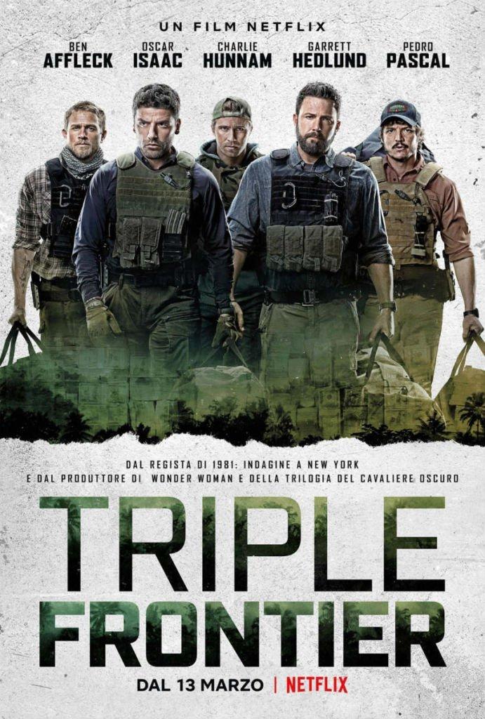 Ben Affleck, Charlie Hunnam, Garrett Hudlund, J.C. Chandor, Netflix, Oscar Isaac, Pedro Pascal, triple frontier