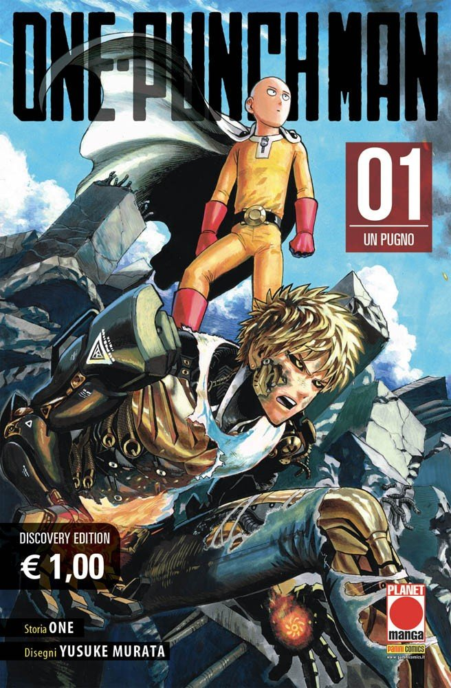 Planet Manga The Cover Of One Punch Man Discovery Edition