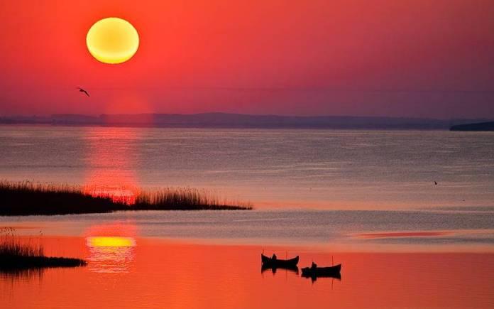 Dor de delta - Nostalgii de dimineata-photo Ionel Onofras