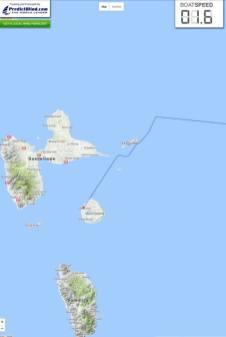 Drugan Sorin a ajuns in insula Marie-Galante