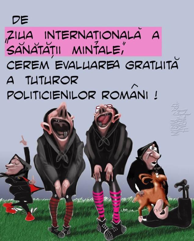 Ziua Internationala a Sanatatii Mintale-Marian Avramescu