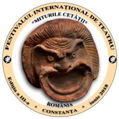 Festivalul International de Teatru Miturile Cetatii2018-sigla