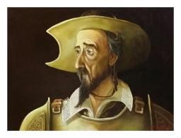 Paul_Stoica_Don_Quijote_ulei-pe-panza