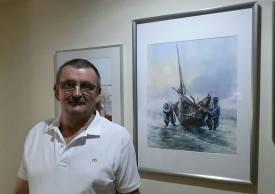 Paul_Stoica_pescari-in-zori-acuarela2