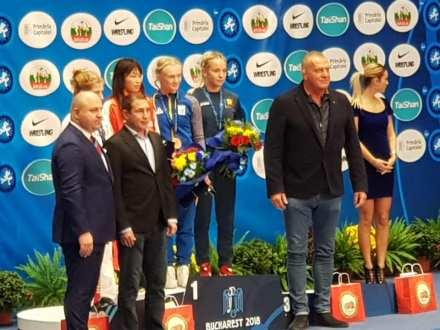 Ana Andreea Beatrice bronz Campionatul Mondial de Lupte1