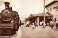 Gara din Mangalia în anii 40