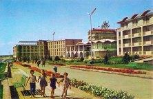 Mangalia 1965 - pe faleza