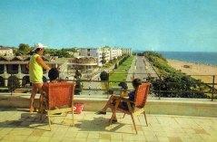 Mangalia - Vedere de pe Hotel Scala - anii 70