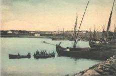 Portul Mangalia - 1916
