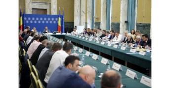 Întâlnirea membrilor Guvernului cu reprezentanții Confederației Patronatului Român1