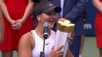 Bianca Andreescu este noua campioană de la Rogers Cup