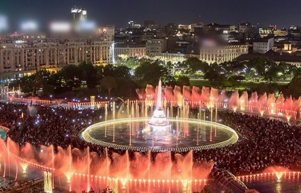 longest-choreographed-fountain-system-bucharest2