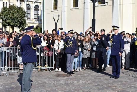 nouă promoţie politisti frontieră Oradea (1)