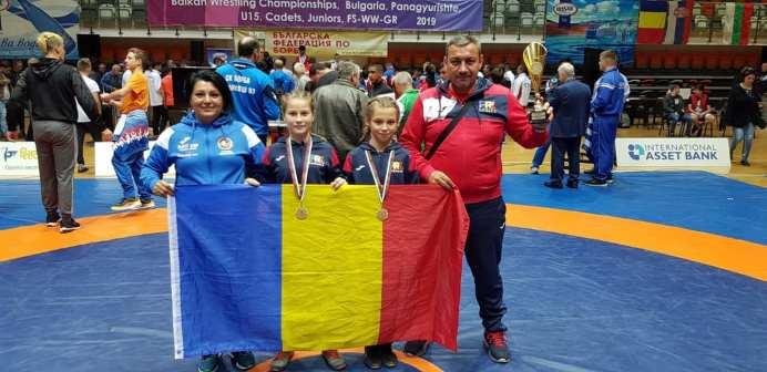 Clubul Sportiv Poseidon Avem două Campioane Balcanice la Lupte6