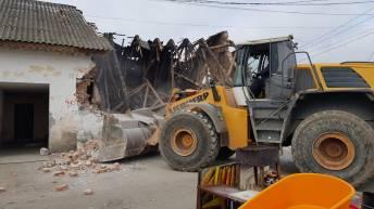 demolare baraci mangalia13