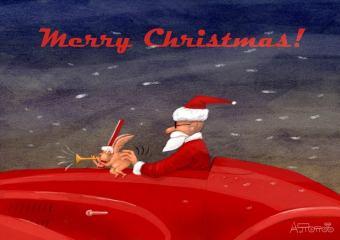 Caricaturiștii lumii & Merry Christmas-02-Andrei Popov-Russia