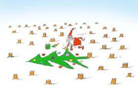 Caricaturiștii lumii & Merry Christmas-06-Massoud Shojai Tabatabai