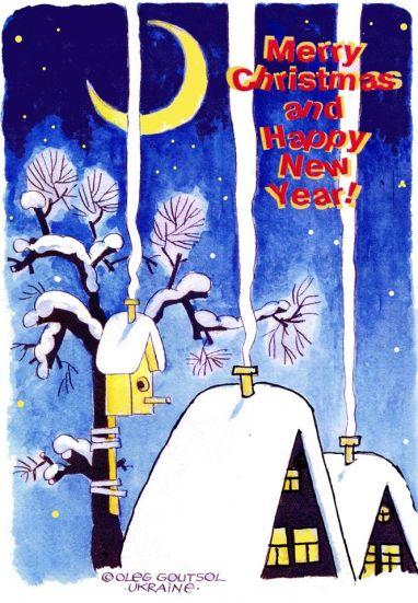 Caricaturiștii lumii & Merry Christmas-16