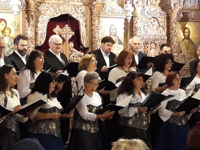 Corul Song în concert 9 dec2019 Biserica Sf. Elefterie din Bucuresti-9