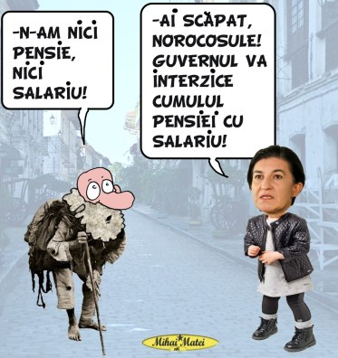 Mihai Matei pensie-salariu