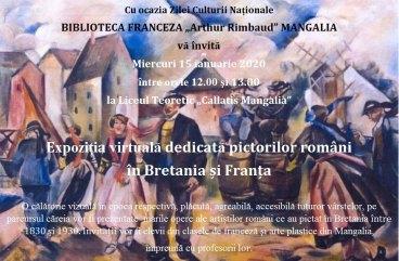 Biblioteca Franceza Mangalia - 15 Ianuarie 2020