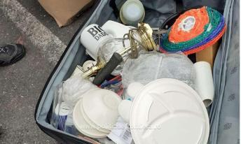 Containere încărcate cu deșeuri, depistate în Portul Constanţa Sud Agigea (4)