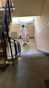 dezinfectie scari bloc mangalia-polaris1