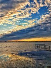 Auris Luca - Apus pe lacul Techirghiol