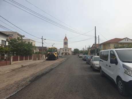 Primăria Mangalia asfaltează 17 străzi din oraș-01