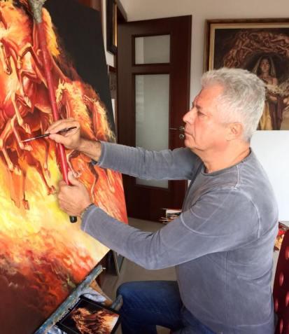 Valentin Tănase - In atelier-2