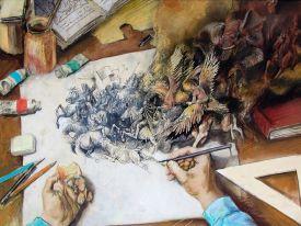 Valentin Tănase - In atelier