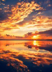 Vlad Eftenie - Sunset sky Techirghiol