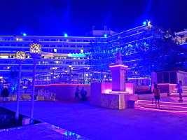 Hotelul Panoramic Olimp pe înserat-foto-Elena Stroe-04