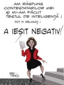 Marian Avramescu - test negativ