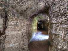 Bisericuțele rupestre de la Dumbrăveni Foto Maria Cazacu-14