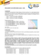 Cupa Marii Negre la Ciclism copii - Regulament1