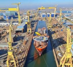 Cinci nave au fost lansate la apă la Șantierul Naval Damen Mangalia1