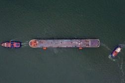 Cinci nave au fost lansate la apă la Șantierul Naval Damen Mangalia2