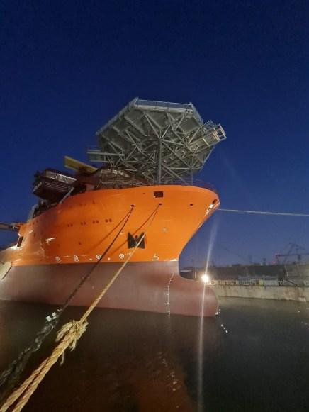 Cinci nave au fost lansate la apă la Șantierul Naval Damen Mangalia4