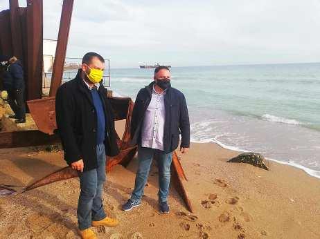 stoparea eroziunii costiere Eforie și Costinești6