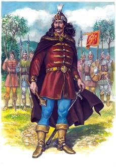 POVESTIRI ISTORICE de Dumitru Almaș, volumul 2, ilustrat de Valentin Tănase-05