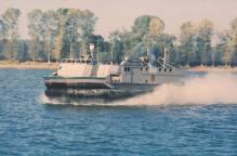 hovercraft 1043 - nava pe perna de aer Galati ICEPRONAV