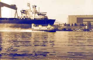 hovercraft - nava pe perna de aer
